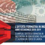 Cni: in tutte le Regioni italiane c'è almeno un corso di laurea in Ingegneria